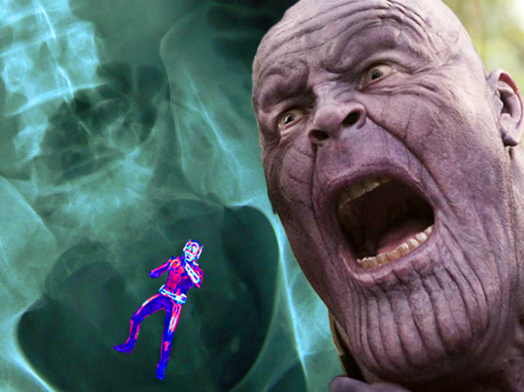 Here's A Very Good Reason Why Putting Ant-Man Up Thanos' Butt Isn't