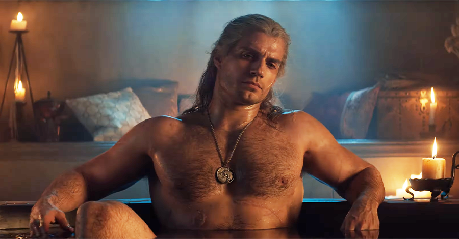 Henry Cavill S Shirtless Scene Routine For The Witcher
